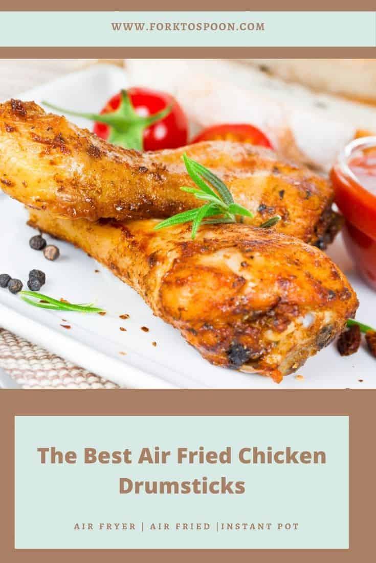 The Best Air Fried Chicken Drumsticks