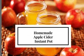 Instant Pot-Spiced Apple Cider