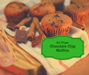Air Fryer-Chocolate Chip Muffins