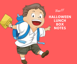 Free Halloween Printable Lunchbox Cards (For Kids)