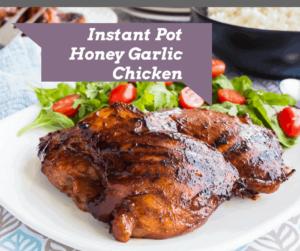Instant Pot-Honey Garlic Chicken