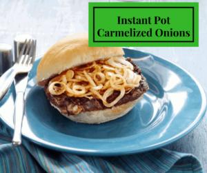 Instant Pot-Carmelized Onions