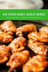 Air Fryer-Honey Garlic Wings