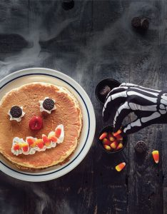 Free Scary Breakfast Pancakes