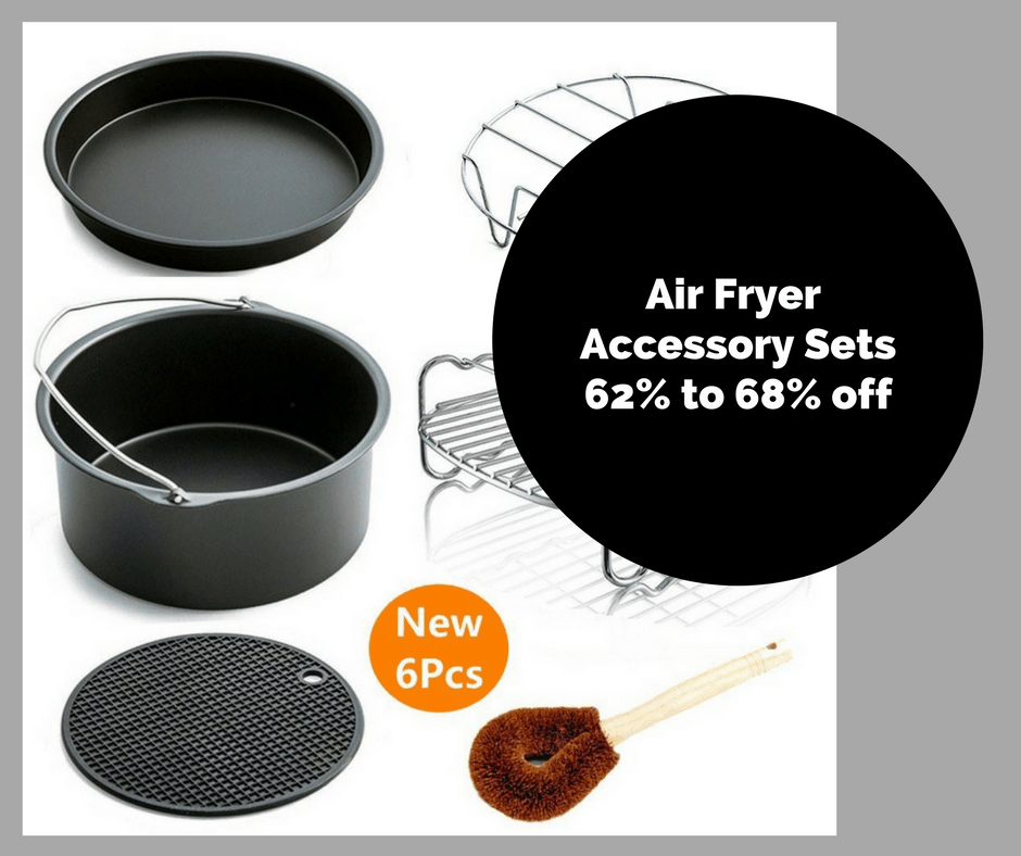 The Best Air Fryer Accessories–62% to 68% Off