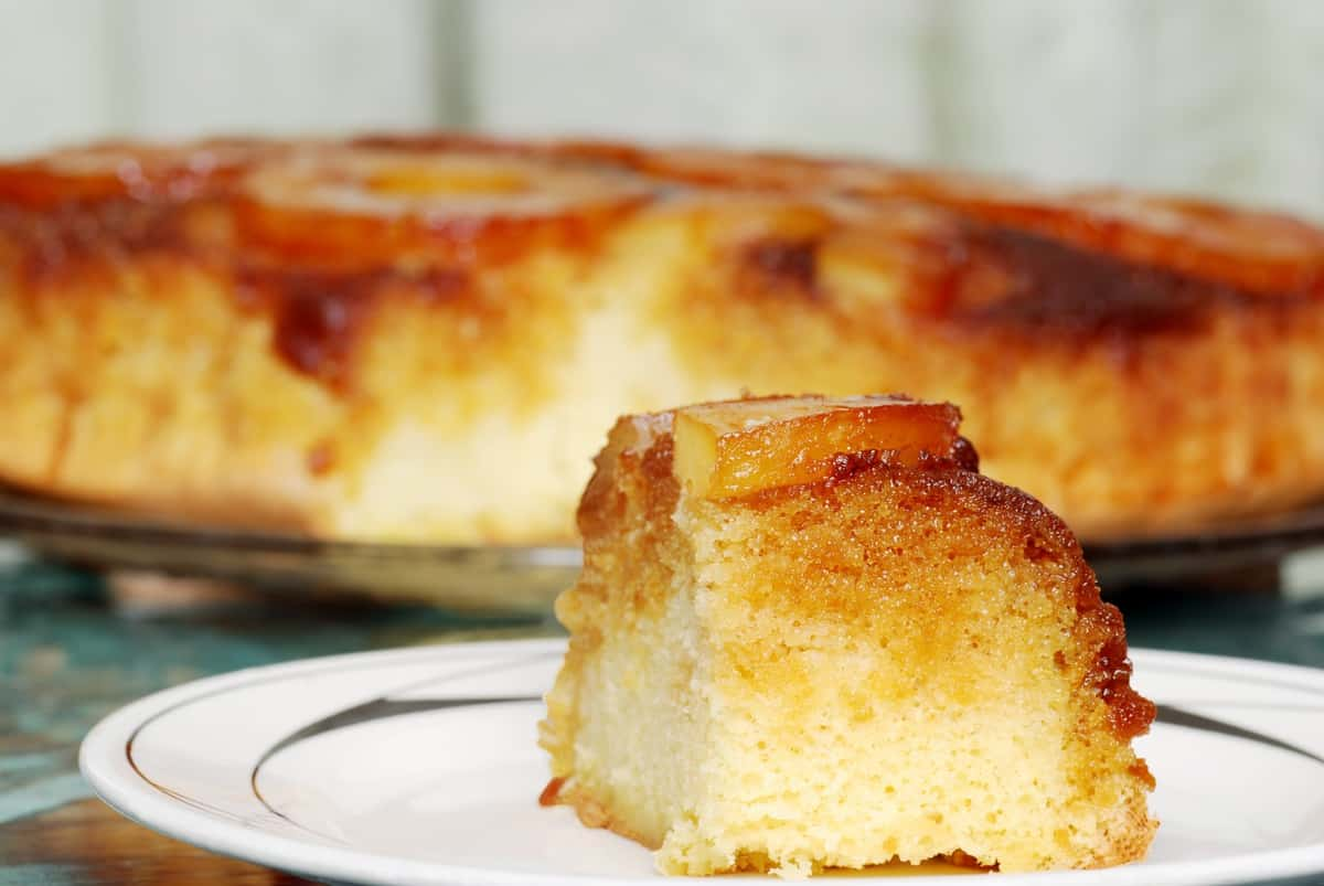 Instant Pot Upside Down Pineapple Cake