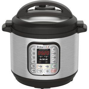 Instant Pot-DUO80 8 Qt  Pressure Cooker, Slow Cooker, Rice Cooker, Steamer, Sauté, Yogurt Maker $81.99 TODAY!