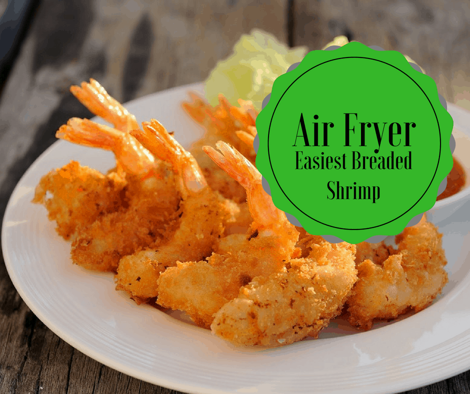 How do you make fried shrimp in an air fryer