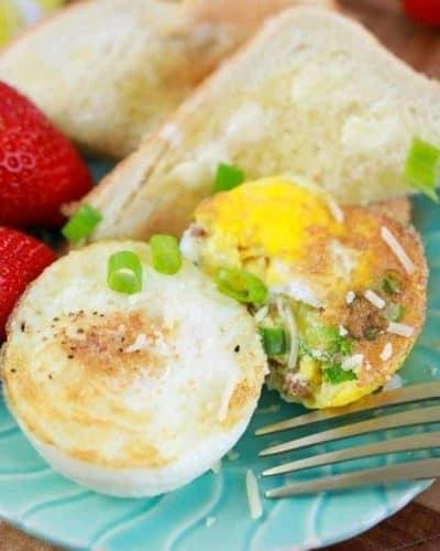 Air Fryer Easy Baked Eggs