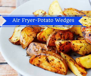 Air Fryer-Potato Wedges