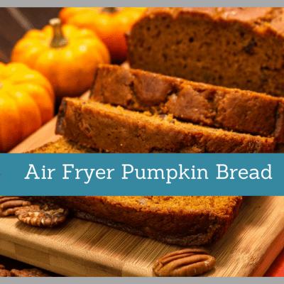 Air Fryer-Pumpkin Bread