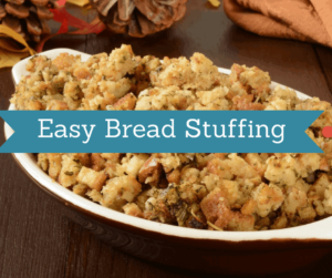 Instant Pot-Easy Bread Stuffing (By Using the Instant Pot)