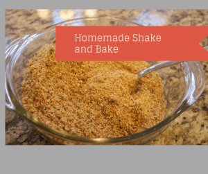 Homemade Shake and Bake