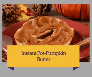 Instant Pot-3 Minute Pumpkin Butter