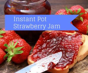 Instant Pot-Pressure Cooker-Strawberry Jam