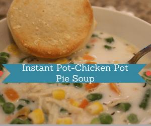 Instant Pot-Chicken Pot Pie Soup