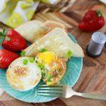 Air Fryer Baked Eggs
