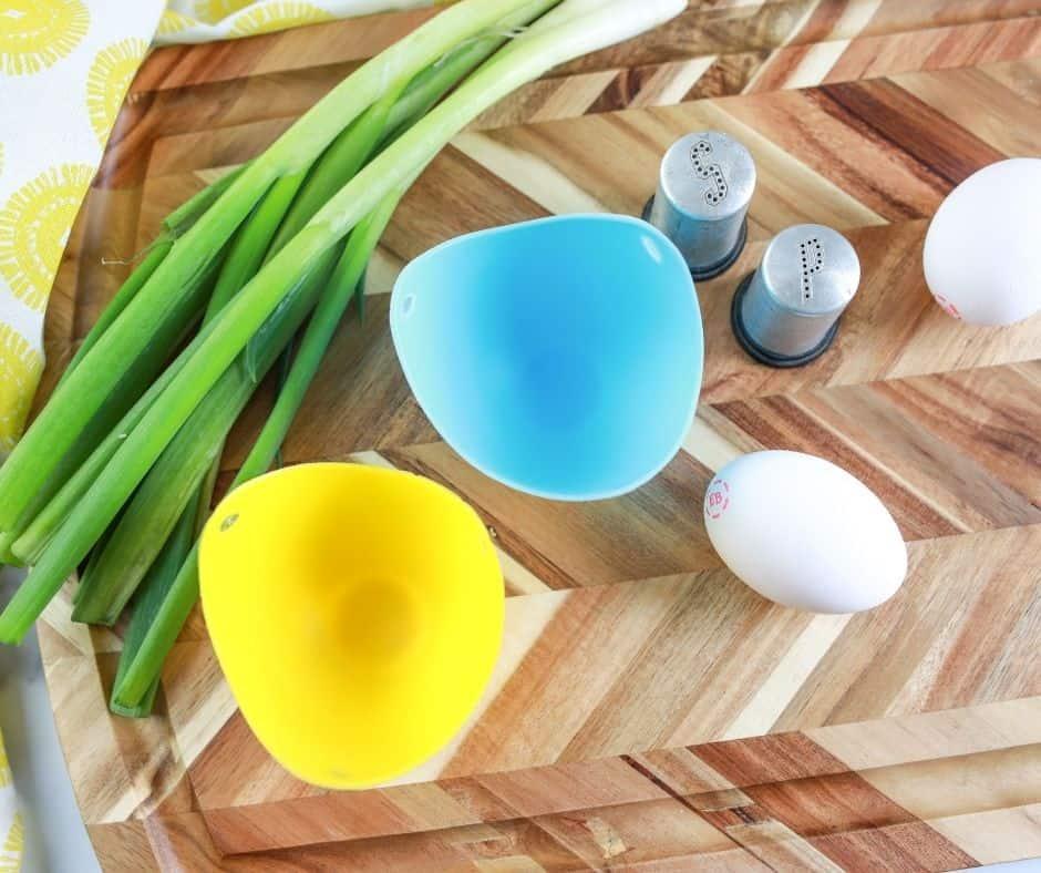 Air Fryer Baked Eggs Ingredients
