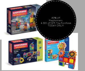 Deal of the Day: Up to 40% off select Magformers toys