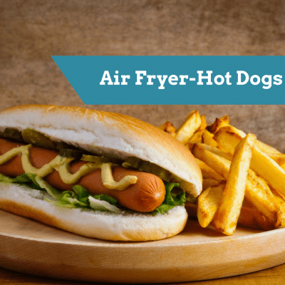Air Fryer-Perfectly Cooked Hot Dogs