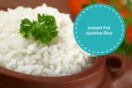 Instant Pot-Jasmine Rice