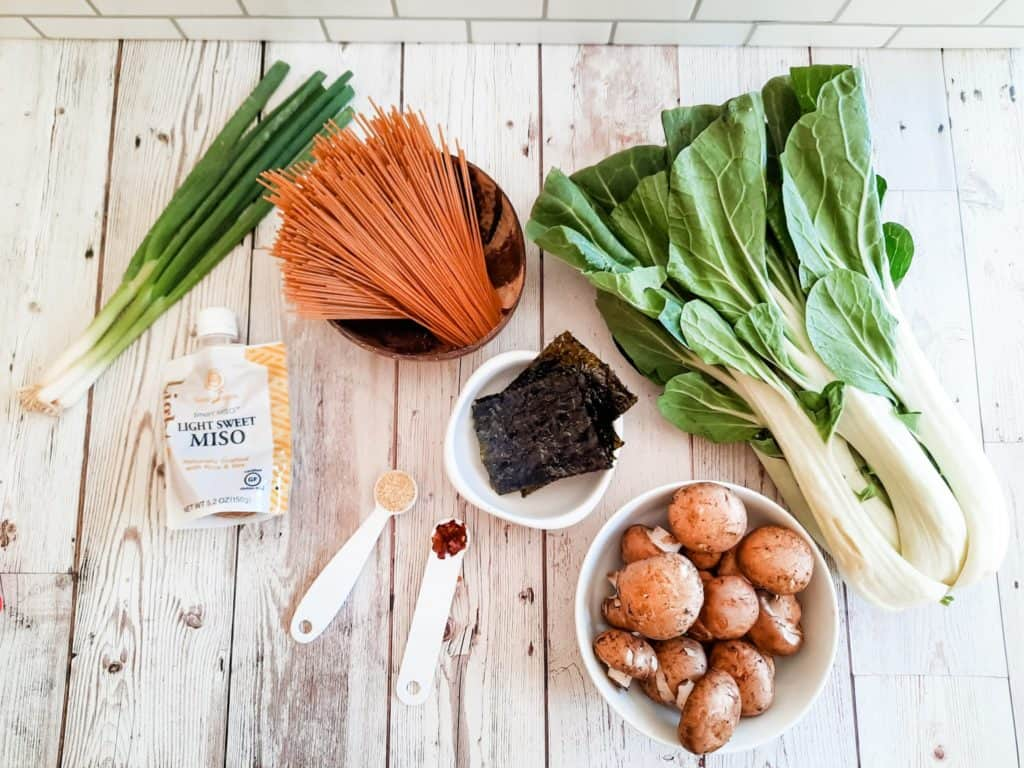 Ingredients Needed For Instant Pot Miso Soup