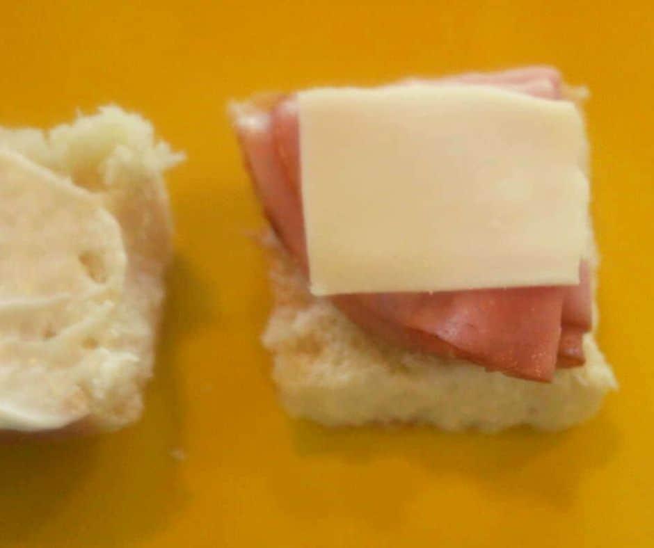 Ham and Cheese Sandwcihes