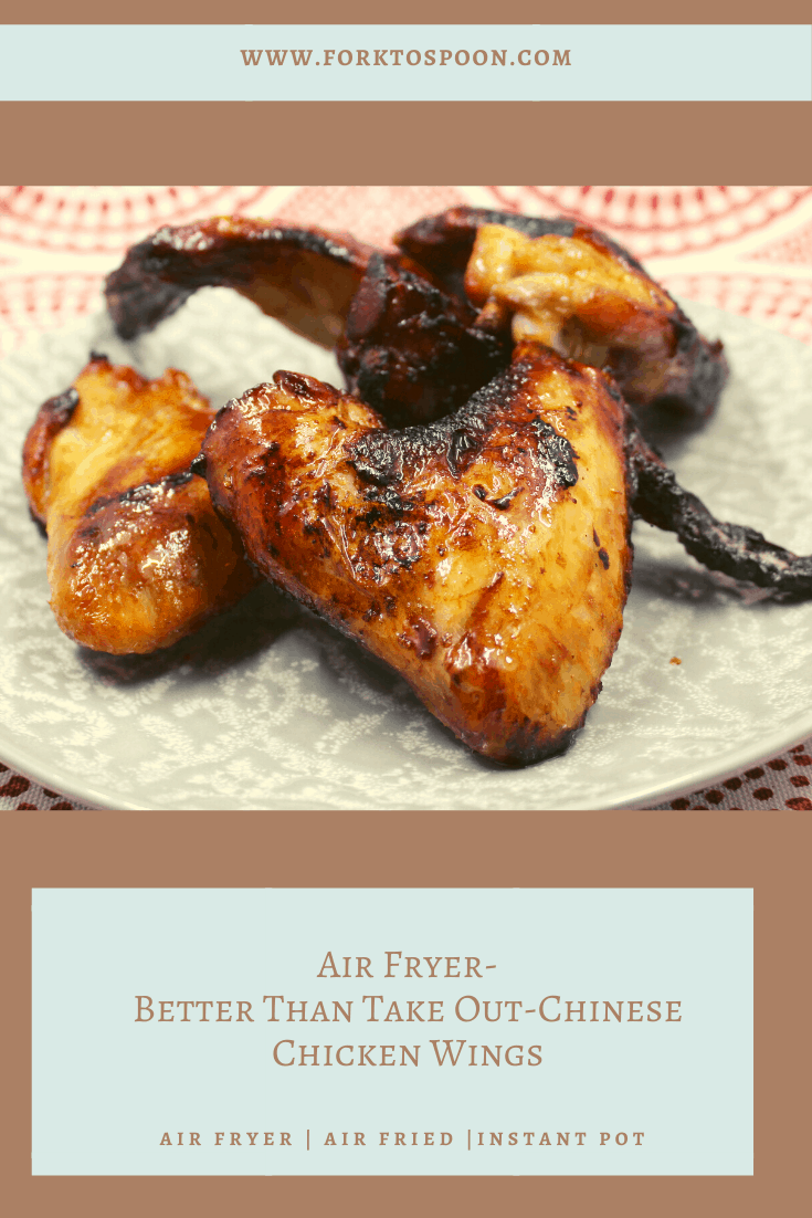 Air Fryer-Better Than Take Out-Chinese Chicken Wings