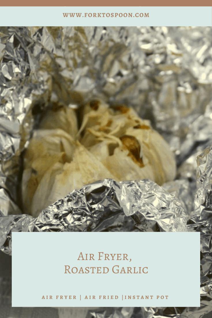 Air Fryer, Roasted Garlic