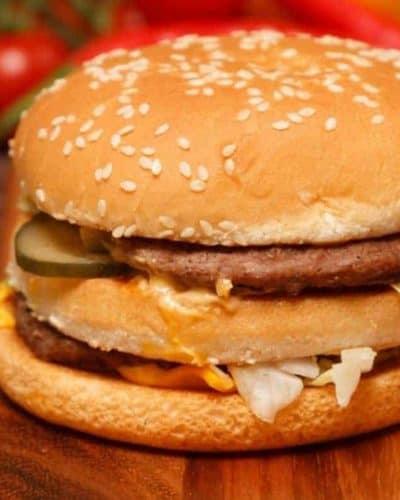 Air Fryer Big Mac