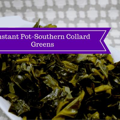Pressure Cooker (Instant Pot)-Collard Greens