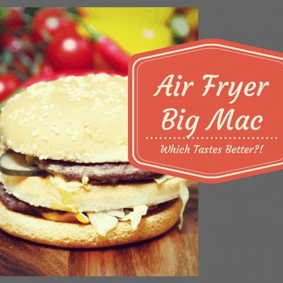 Air Fryer-Copycat Big Mac, Which Tastes Better?!