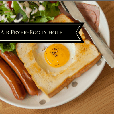 Air Fryer-Egg in Hole