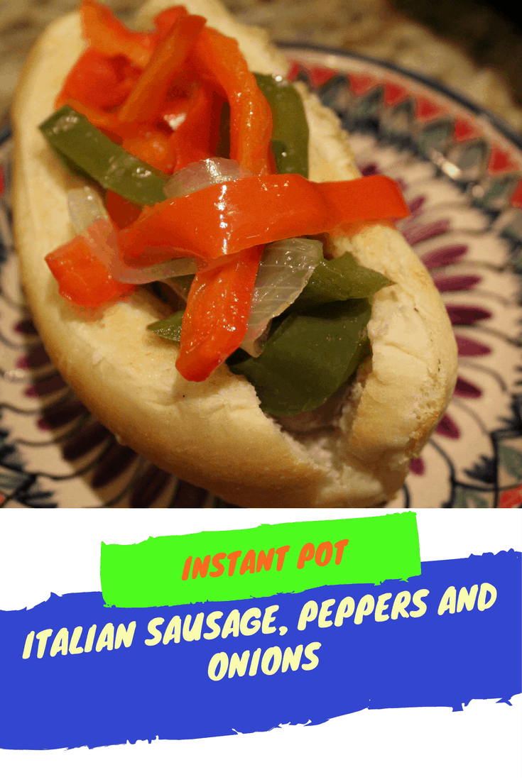 Pressure Cooker Instant Pot Grilled Italian Sausages