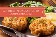 Air Fryer-Maryland Jumbo Lump Crab Cakes