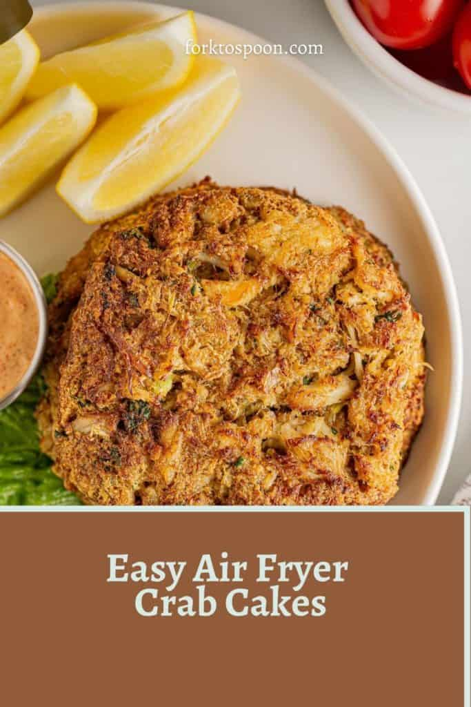 Easy Air Fryer Crab Cakes