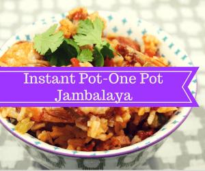 Pressure Cooker, Instant Pot-One Pot–Jambalaya