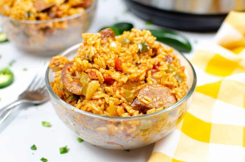 Instant Pot Andouille Sausage Jambalaya