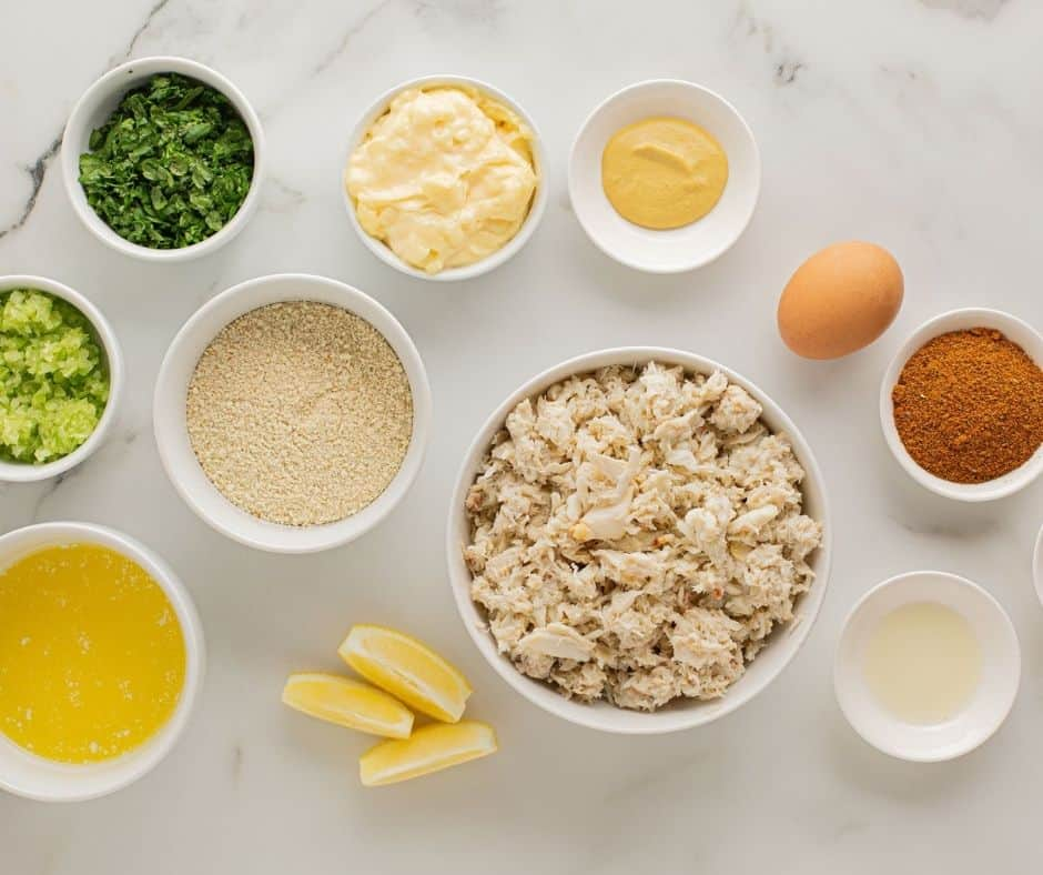 Ingredients Needed For Air Fryer Crab Cakes