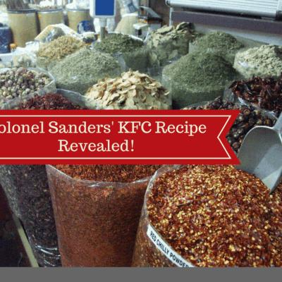 Homemade Pantry-Colonel Sanders' KFC Recipe Revealed!