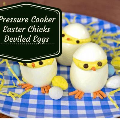 Pressure Cooker, Instant Pot,  Hatching Chicks Deviled Eggs