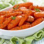 Air Fryer Honey Roasted Carrots