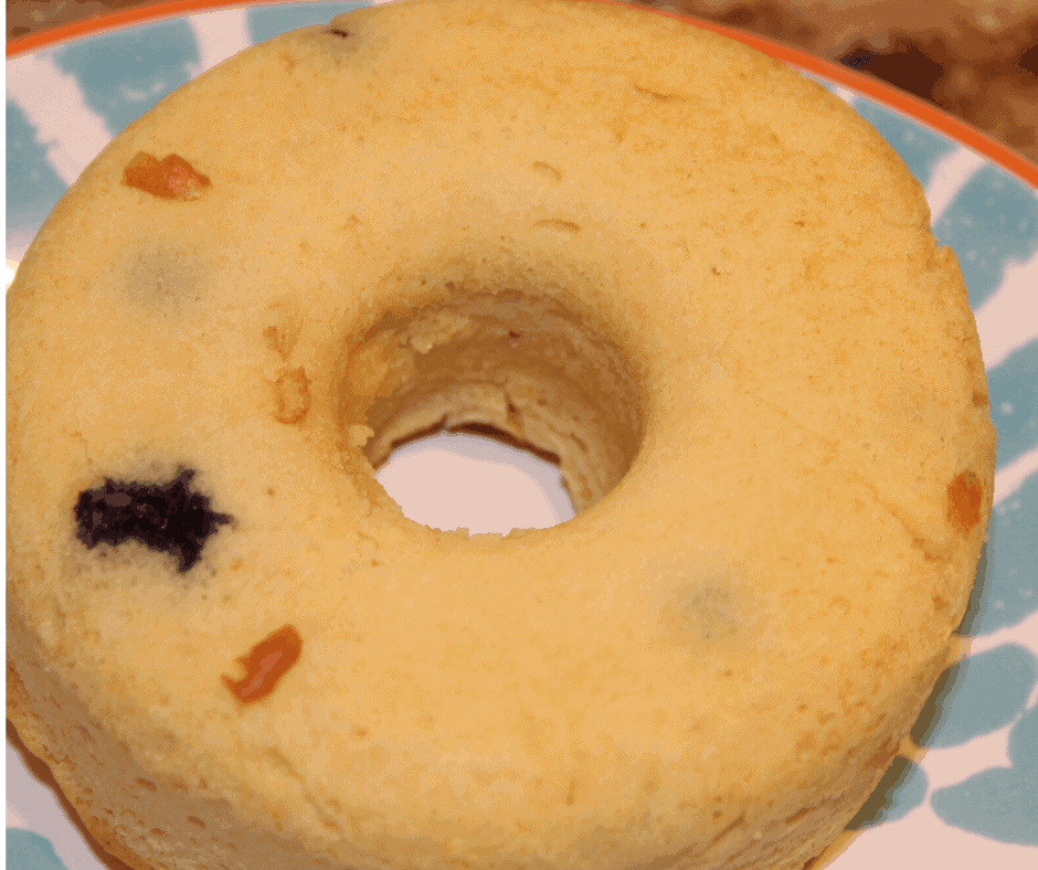 Air Fryer, Homemade Blueberry Donuts