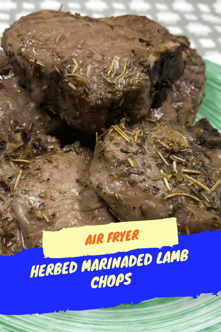Place The Marinated Lamb In Air Fryer Basket
