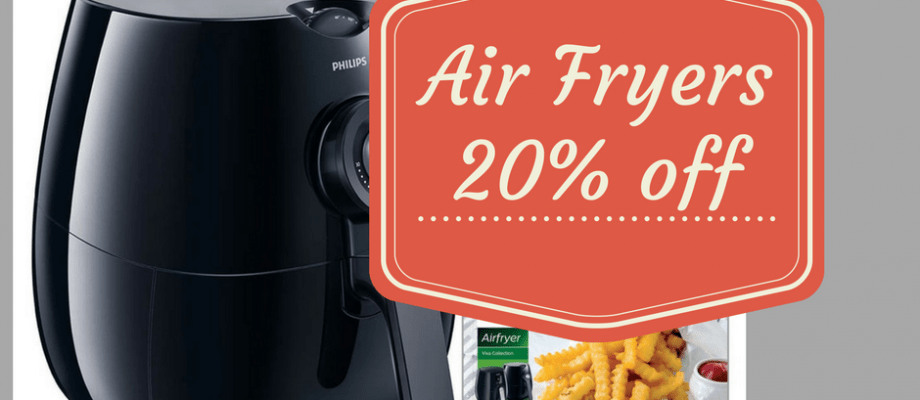 Kohl's Deal-Air Fryers, 20% off And Kohl's Cash