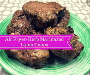 Air Fryer-Herbed Lamb Chops