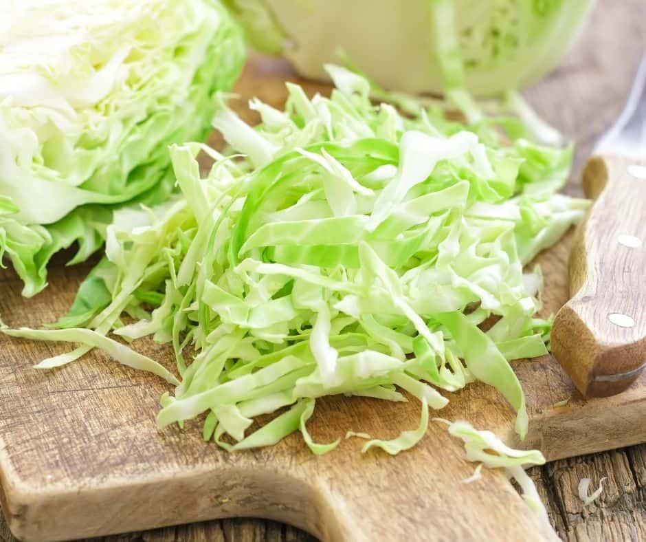 Air Fryer Cabbage