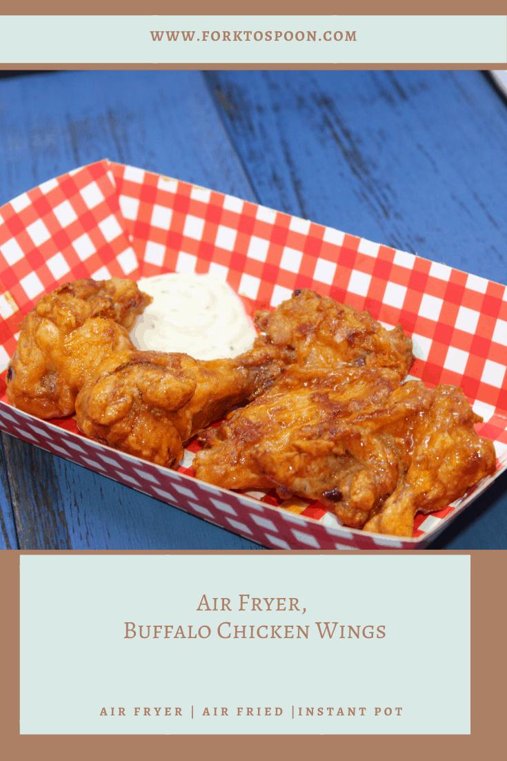 Air Fryer, Buffalo Chicken Wings