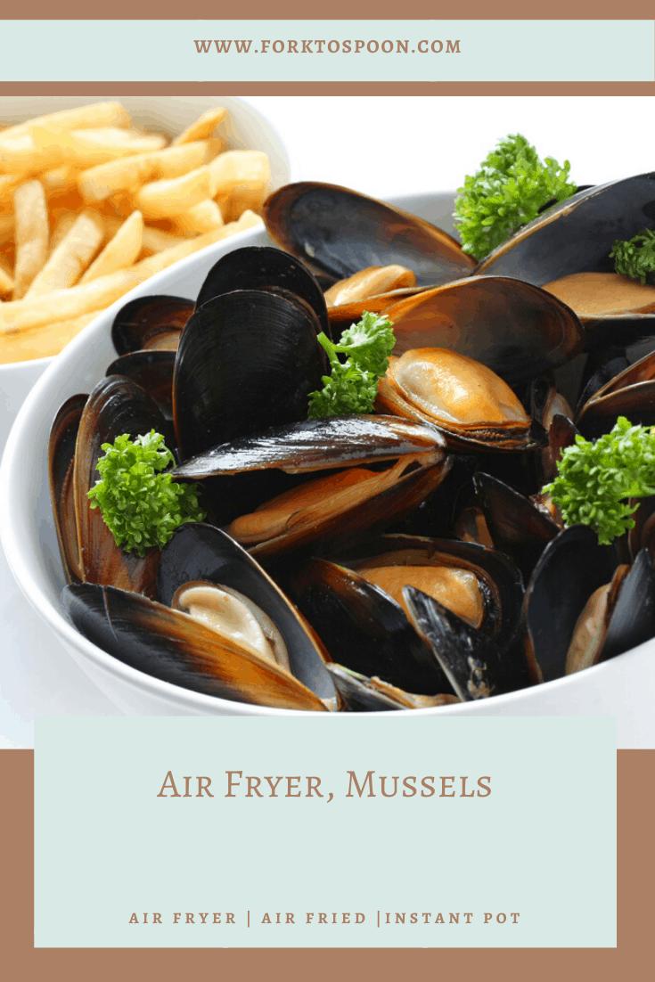 Air Fryer Mussels