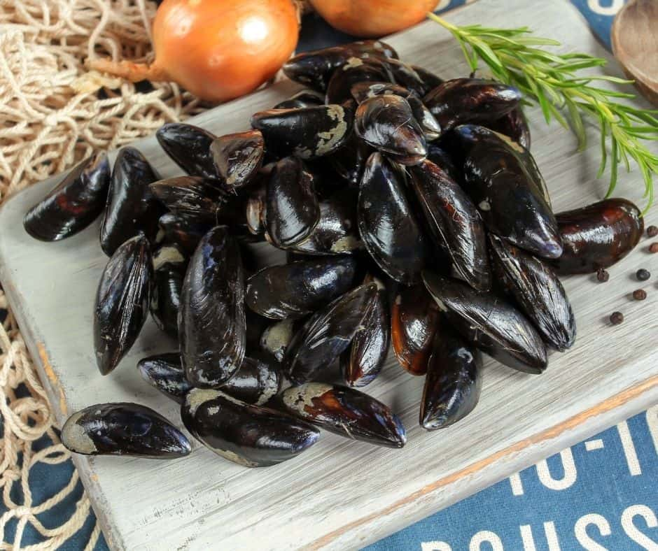 Raw Mussels